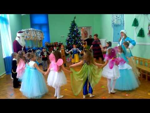 """8 Танец - """"Новогодняя считалка"""" (""""И раз, два, три, сколько мальчиков хороших посмотри..."""")"""