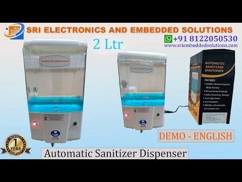 Automatic Hand Sanitizer Dispenser - 1.8 litres