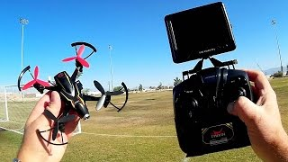 Cheerson CX-93S Thorn 5.8 Ghz FPV Acro Mode Trainer Drone Flight Test Review
