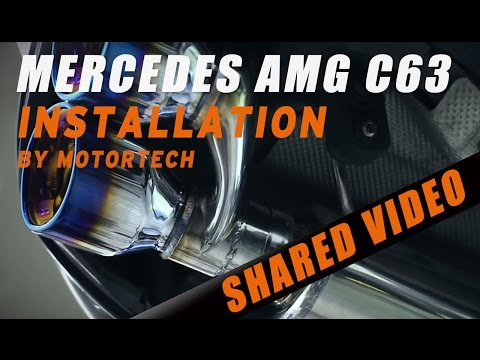 Mercedes W204 C63 with iPE , project builder - Motortech