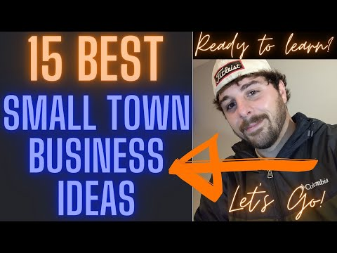 , title : '15 MOST SUCCESSFUL SMALL TOWN BUSINESS IDEAS IN 2020 2021 RURAL AREAS