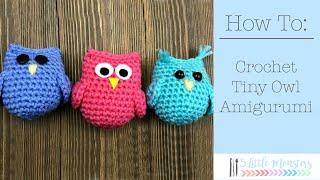 Tiny Owl Amigurumi Video Tutorial