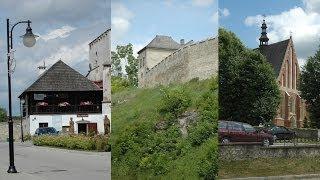 preview picture of video 'Szydłów  szynagoga, baszty i mury obronne  woj świętokrzyskie'