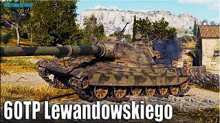 ПОЛЬСКИЙ ТАНК 10 УРОВНЯ 60TP Lewandowskiego World of Tanks 🌟 как играют статисты в wot Sh0tnik