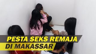 5 ABG Digerebek Hendak Gelar Pesta Seks di Makassar, 3 Gadis Masih di Bawah Umur