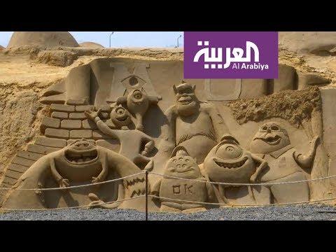 العرب اليوم - شاهد: متحف للرمال في الغردقة