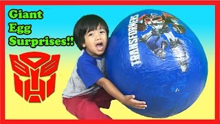 GIANT EGG SURPRISE OPENING TRANSFORMER Toys