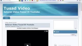 Tutorial Cara Embed Code HTML Live Streaming RRI Singaraja Di SHOUTcast