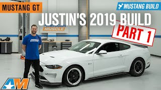 2019 Ford Mustang Build | Exhaust, Lowered, and Wheels & Tires – Justin's 2019 Mustang GT Build 🏎