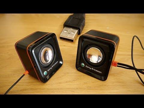 Change Ericsson MPS-70 into USB Speakers