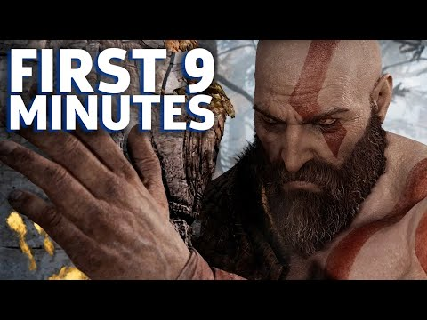 The First 9 Minutes Of God Of War