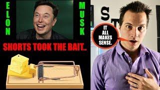 Did Elon Musk Set A Trap For Tesla Shortsellers?