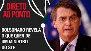Bolsonaro fala sobre demora para sabatina de André Mendonça
