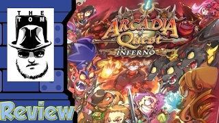 Arcadia Quest: Inferno Review - with Tom Vasel