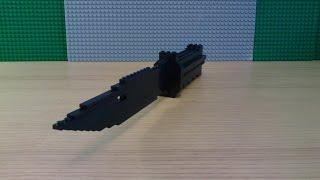 Как сделать штык-нож из Lego ( часть 2 )