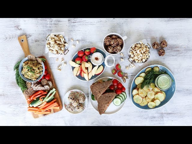 EASY VEGAN SNACK IDEAS » for students (or anyone, really)