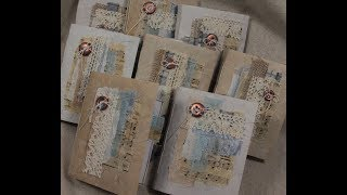 Handmade Mini Journals - In Etsy Store Now!  (SOLD OUT)