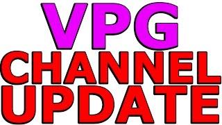VinylicPumaGaming - Quick Channel Update!
