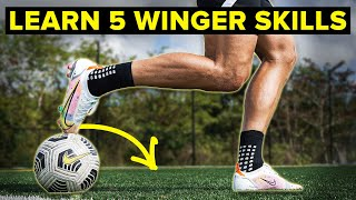 LEARN these FIVE STAR skill moves for wingers!