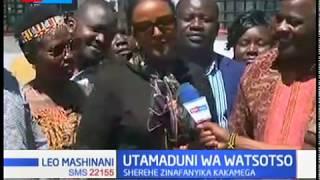Sherehe za kitamaduni wa Watsotso zafanyika mjini Kakamega