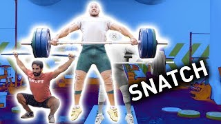 How to SNATCH - Weightlifting Tutorial (Step by Step)