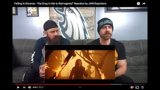 """Falling In Reverse - The Drug In Me Is Reimagined"""" Reaction by JAM Reactions"""