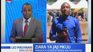 Jaji mkuu David Maraga azuru eneo la Kakamega