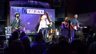 T'Pau - I Will Be With You - The Buttermarket, Shrewsbury.
