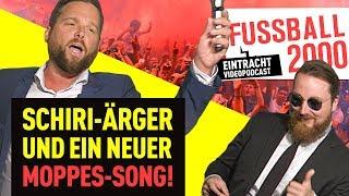 Schiri-Stress, SMS-Terror & eine Weltpremiere in Frankfurt! | FUSSBALL 2000 - Eintracht-Videopodcast