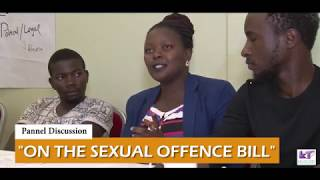 Sexual offence bill pannel Discussion