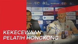 Kekecewaan Pelatih Timnas U-19 Hong Kong saat Timnya Kalah dari TImnas U-19 Indonesia