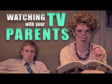 Sledování televize s rodiči
