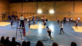 preview picture of video 'AGCA - Piscinola - Ultimo punto 5° set.'