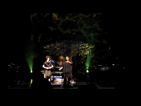 Imogen Heap and Matthew Andrae in Dallas
