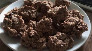 Chocolate & Hazelnut Amaretti Biscuit | Italian Cookie Recipe