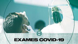 """Exames Covid-19"""","""