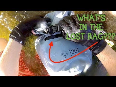 River Treasure: Found Lost Bag with Full Wallet & Car Keys (Returned to Owner) + GIVEAWAY WINNERS!