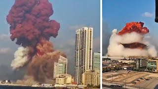 video: Beirut explosions: Blast detonated 2,000 tons of chemicals - latest news and video