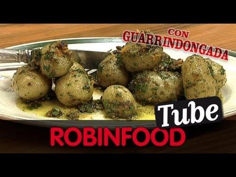 ROBINFOOD / Tarta de lechuga flamenca + Ensalada de patata y pan viejo