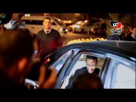 محمد رمضان وزاهر في حفل تكريم نجوم الفن بـ«نايل دراما»