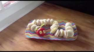 How To Make Hungry Caterpillar Sandwiches
