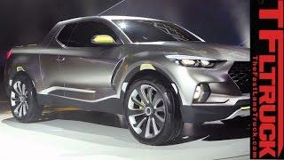 Surprise, a Hyundai pickup: Watch Hyundai Santa Cruz Concept truck Revealed