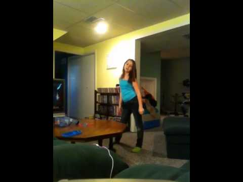 11 year old dancing