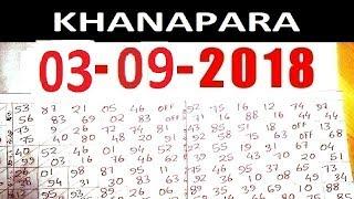 29/03/2018 KHANAPARA TEER COMMON & DREAMS NUMBERS KHANAPARA