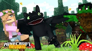GOBLINS TRY TO TAKE MY DRAGON | Minecraft DRAGONS w/ Little Kelly