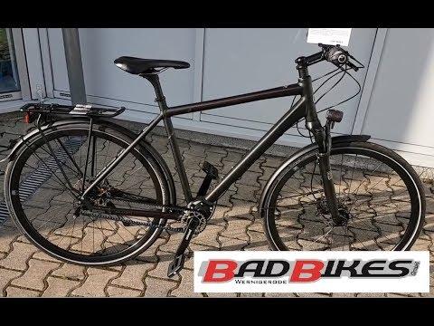 Kalkhoff Endeavour P18 Pinon , Gates Trekking Bike 2017 magicblack matt