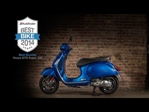 2014 Best Scooter: Vespa GTS 300 Super - Auto Trader Best Bike Awards