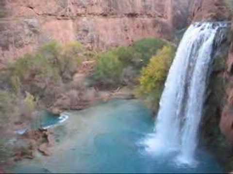 Mooney Falls & Havasu Falls, Grand Canyon, AZ