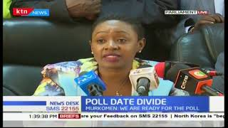 Jubilee MPs back the new election date