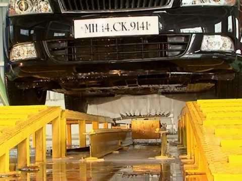 Automatic Car Underbody Washing System